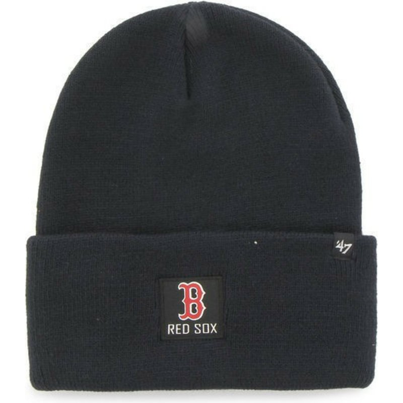 47-brand-box-logo-boston-red-sox-mlb-portbury-navy-blue-beanie
