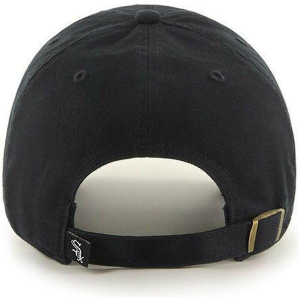 47-brand-curved-brim-chicago-white-sox-mlb-clean-up-black-cap
