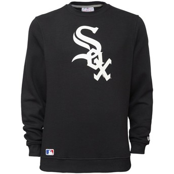 New Era Chicago White Sox MLB Black Crew Neck Sweatshirt