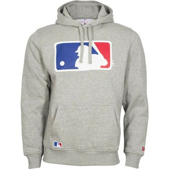 New Era MLB Grey Pullover Hoodie Sweatshirt