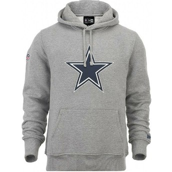 New Era Dallas Cowboys NFL Grey Pullover Hoodie Sweatshirt