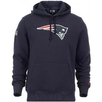 New Era New England Patriots NFL Blue Pullover Hoodie Sweatshirt