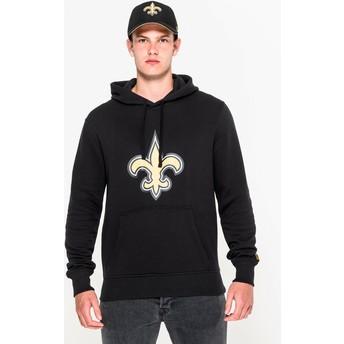New Era New Orleans Saints NFL Black Pullover Hoodie Sweatshirt