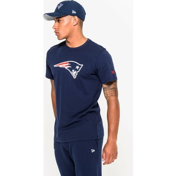 New Era New England Patriots NFL Blue T-Shirt