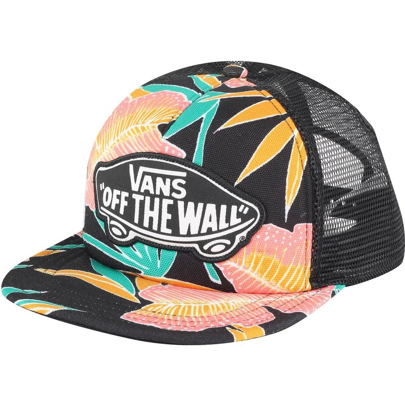 vans-beach-girl-tropical-multicolor-trucker-hat