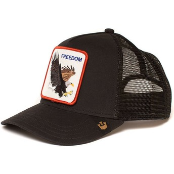 Goorin Bros. Eagle Freedom Black Trucker Hat