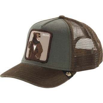 Goorin Bros. Bear Lone Star Green Trucker Hat