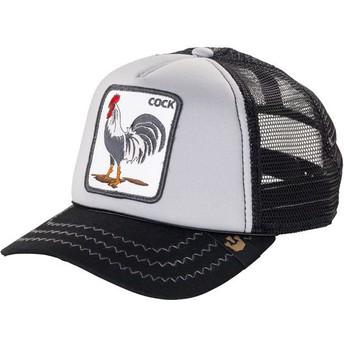 Goorin Bros. Rooster Checkin' Traps Grey Trucker Hat