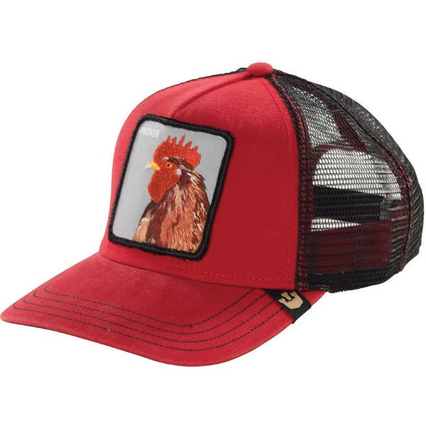 goorin-bros-rooster-plucker-red-trucker-hat
