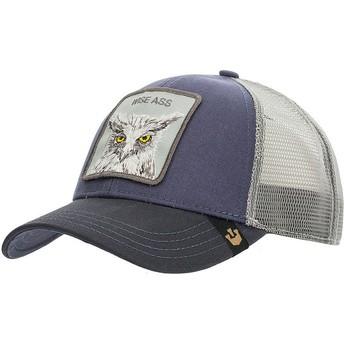 Goorin Bros. X the Owl Navy Blue Trucker Hat
