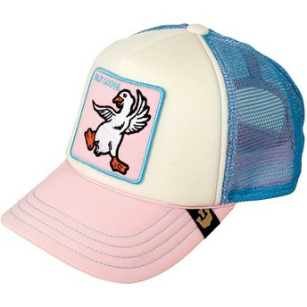Goorin Bros. Youth Silly Goose Pink and Blue Trucker Hat