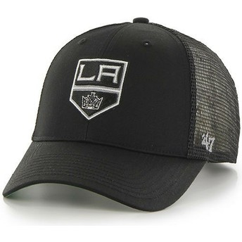 47 Brand Los Angeles Kings NHL MVP Branson Black Trucker Hat