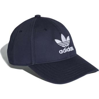 Adidas Curved Brim Trefoil Classic Navy Blue Adjustable Cap