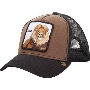 Goorin Bros. King Lion Brown Trucker Hat