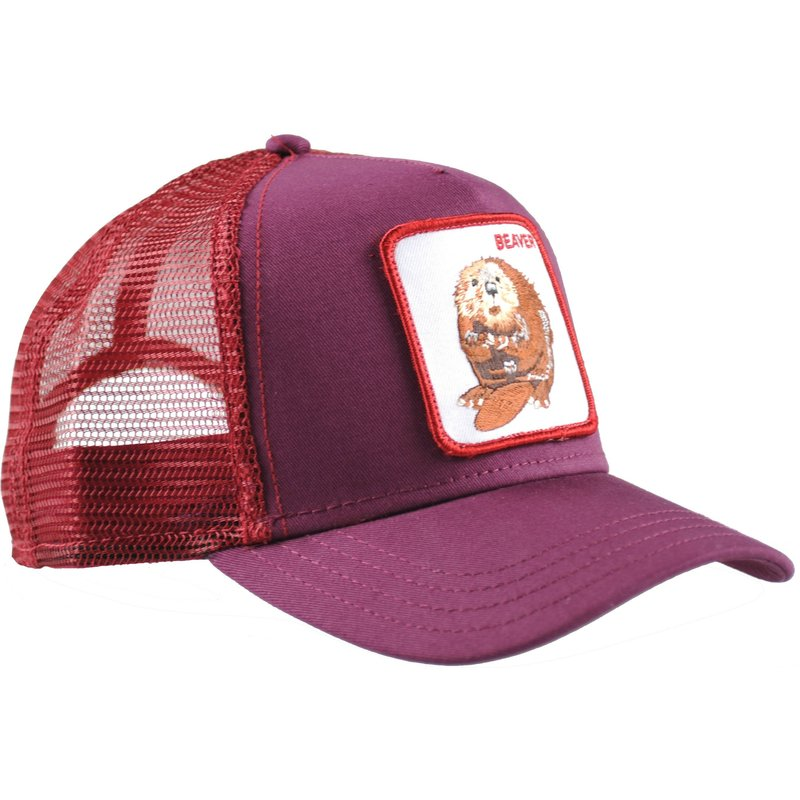 goorin-bros-two-beavers-maroon-trucker-hat