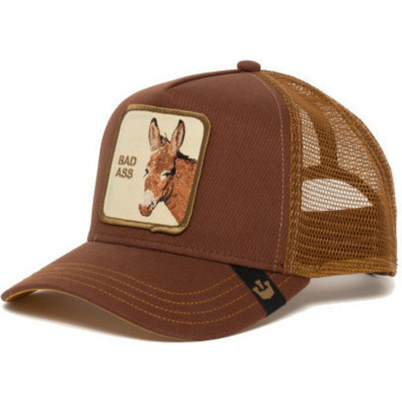 goorin-bros-donkey-bad-bad-ass-brown-trucker-hat