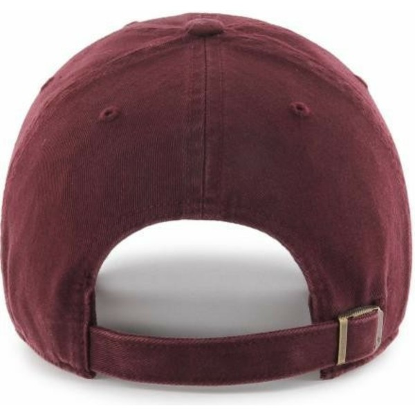 47-brand-curved-brim-maroon-logo-new-york-yankees-mlb-clean-up-maroon-cap