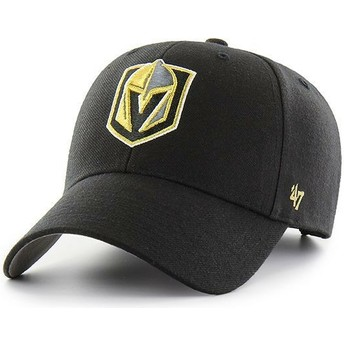 47 Brand Curved Brim Vegas Golden Knights NHL MVP Black Cap