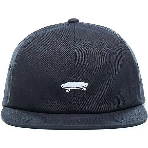 vans-flat-brim-salton-ii-black-adjustable-cap