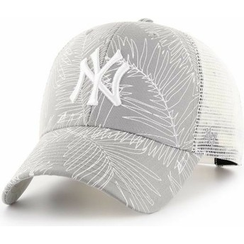 47 Brand New York Yankees MLB MVP Palma Grey Trucker Hat