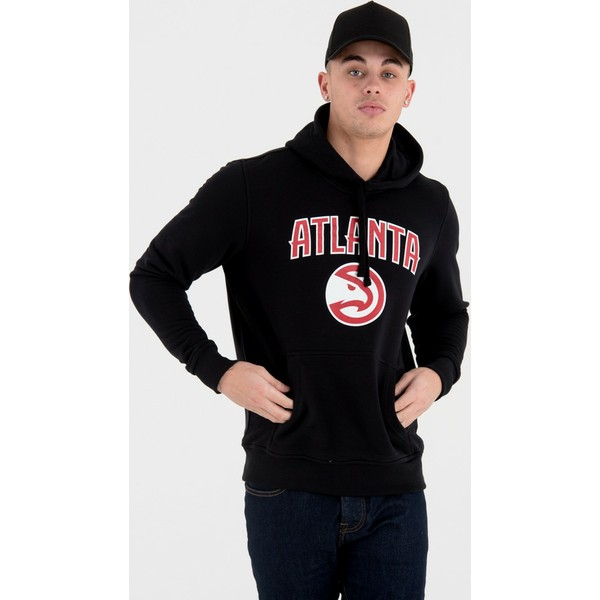 new-era-atlanta-hawks-nba-black-pullover-hoody-sweatshirt