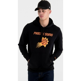 New Era Phoenix Suns NBA Black Pullover Hoody Sweatshirt