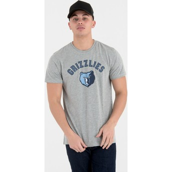 New Era Memphis Grizzlies NBA Grey T-Shirt