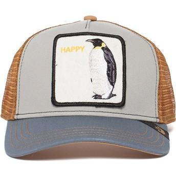 Goorin Bros. Penguin Waddler Grey Trucker Hat