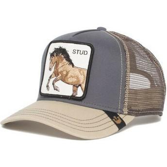 Goorin Bros. Horse You Stud Grey Trucker Hat