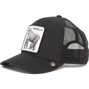 Goorin Bros. Gorilla King of the Jungle Black Trucker Hat