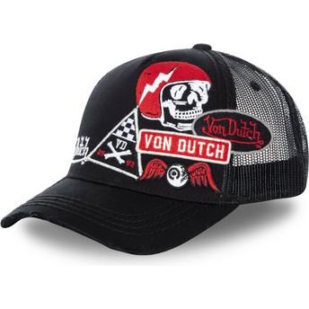 Von Dutch MURPH2 Black Trucker Hat
