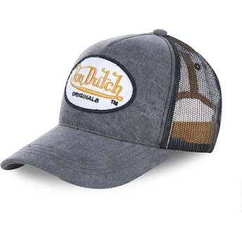 Von Dutch OGJ Grey Trucker Hat