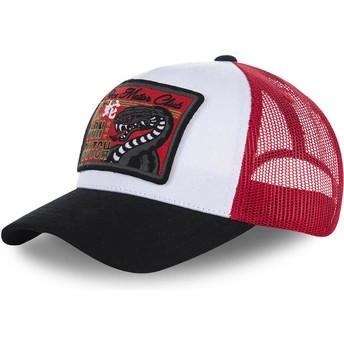 Von Dutch SNAKE White, Red and Black Trucker Hat