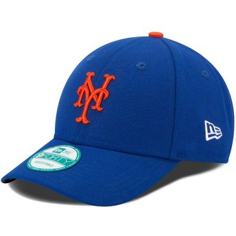 New Era Curved Brim 9FORTY The League New York Mets MLB Blue Adjustable Cap