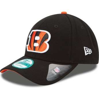 New Era Curved Brim 9FORTY The League Cincinnati Bengals NFL Black Adjustable Cap