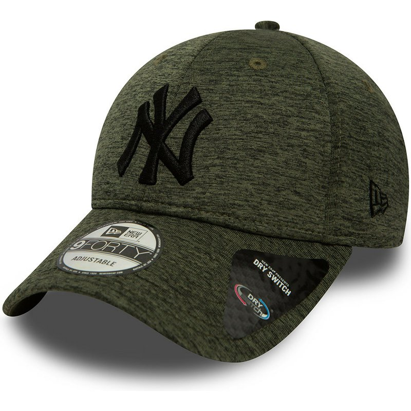 new-era-curved-brim-9forty-dry-switch-jersey-new-york-yankees-mlb-green-adjustable-cap