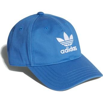Adidas Curved Brim Trefoil Classic Blubir Blue Adjustable Cap