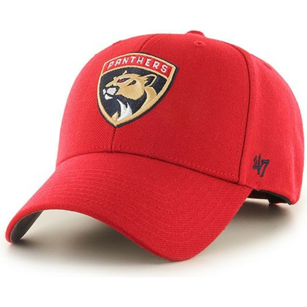 47-brand-curved-brim-florida-panthers-nhl-mvp-red-cap