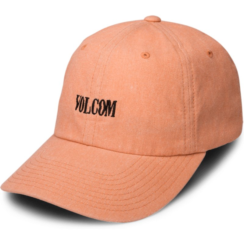 volcom-curved-brim-zine-orange-weave-orange-adjustable-cap