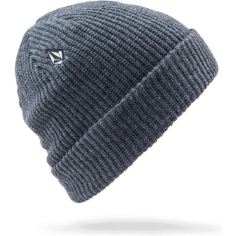 Volcom Charcoal Heather Full Stone Grey Beanie