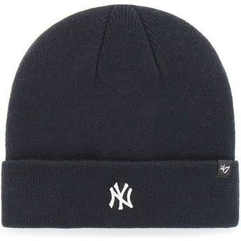 47 Brand New York Yankees MLB Cuff Knit Centerfield Navy Blue Beanie