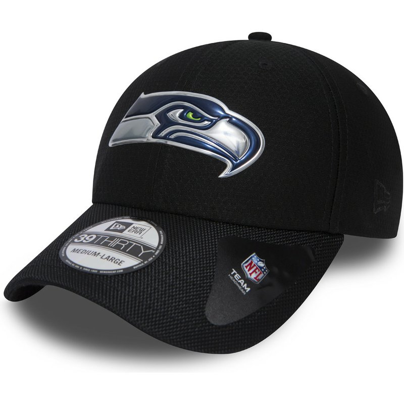 new-era-curved-brim-39thirty-black-coll-seattle-seahawks-nfl-black-fitted-cap