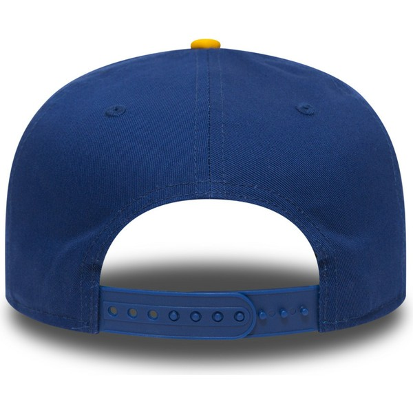 new-era-flat-brim-9fifty-golden-state-warriors-nba-blue-and-yellow-snapback-cap