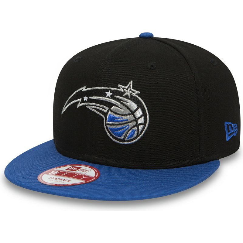 new-era-flat-brim-9fifty-orlando-magic-nba-black-and-blue-snapback-cap