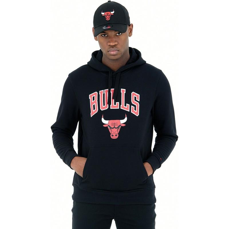 New Era NBA CHICAGO BULLS Colour Block Hoodie Pullover NEU//OVP