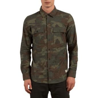 Volcom Camouflage Woodland Camouflage Long Sleeve Shirt