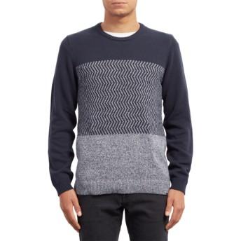 Volcom Navy Bario Update Navy Blue Sweater