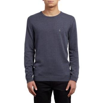 Volcom Navy Uperstand Navy Blue Sweater