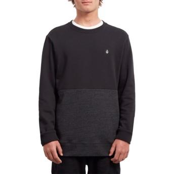 Volcom Sulfur Black Single Stone Division Black Sweatshirt
