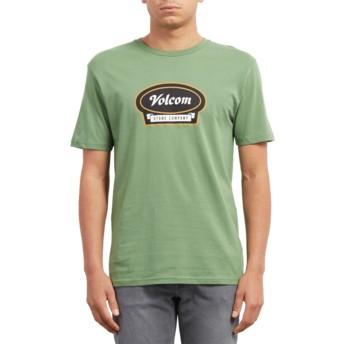 Volcom Dark Kelly Cresticle Green T-Shirt